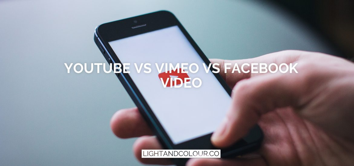 Youtube vs facebook vs vimeo